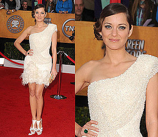 Marion Cotillard Wears Elie Saab at 2010 SAG Awards 2010-01-23 17:31:25