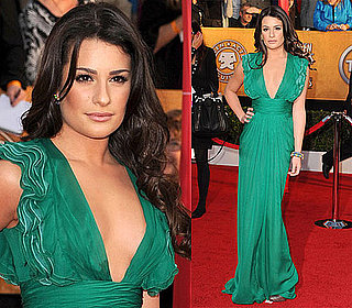 Lea Michele at 2010 SAG Awards 2010-01-23 17:23:47