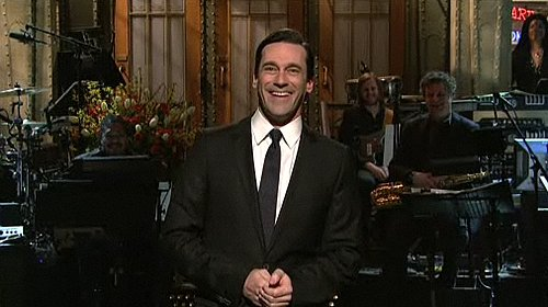 Video of Jon Hamm Playing Scott Brown and Sergio on Saturday Night Live