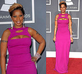 Mary J. Blige in Gucci at 2010 Grammy Awards