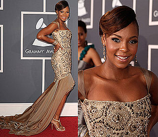 Ashanti at the 2010 Grammy Awards