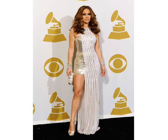 J Lo Shows Some Leg