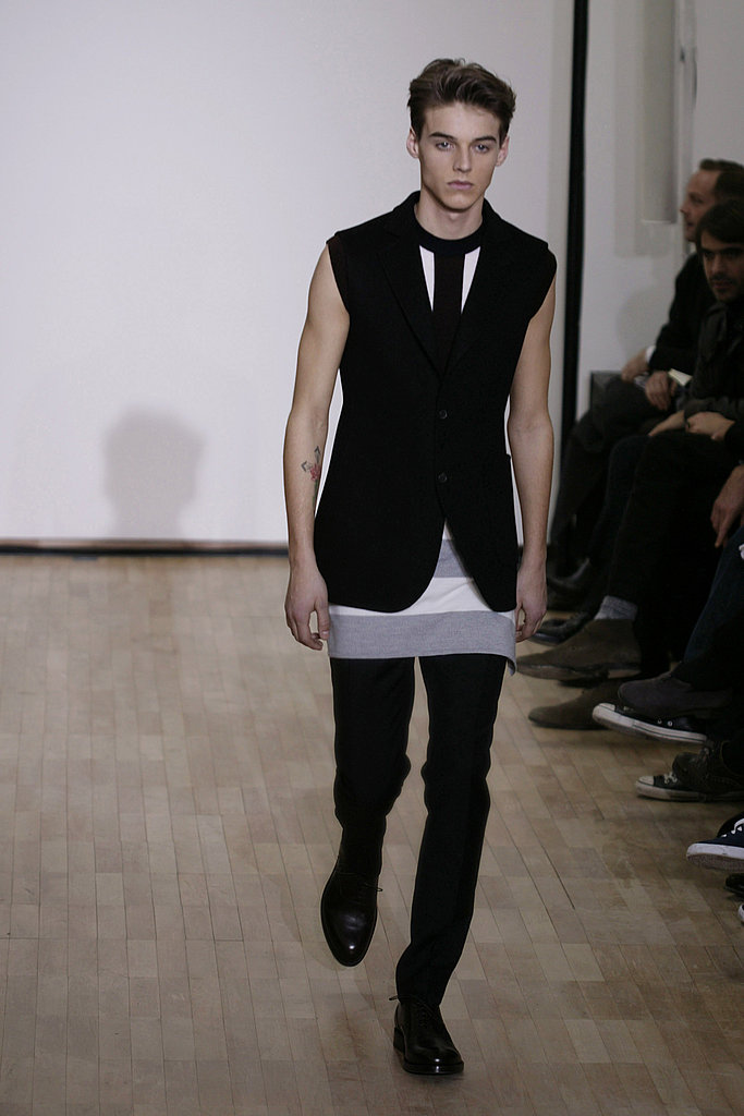 Paris: Raf Simons Men's Fall 2010