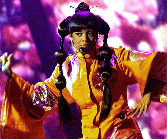 "Lisa ""Left Eye"" Lopes, 2000"