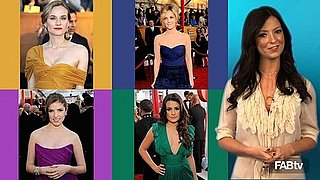 """Diane Kruger, Drew Barrymore"" 2010 SAG Awards, red carpet fashion, Glee girls, lea michele, anna kendrick, 2010 SAG red carpet"