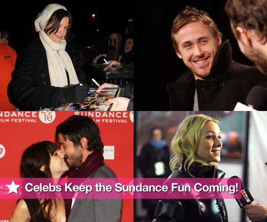 Photos of Naomi Watts, Gerard Butler, Elijah Woods, Katie Holmes at the 2010 Sundance Film Festival