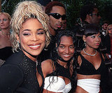 The ladies of TLC were together in 2000.