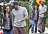 Photos of Jennifer Garner and Ben Affleck Smiling in Santa Monica