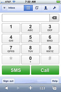 Google Releases Google Voice Web App For iPhone and Palm OS