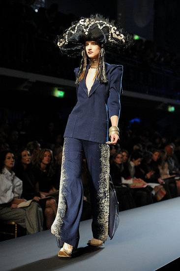 Jean Paul Gaultier Does Avatar-cum-Mexican Fiesta for Spring 2010 Couture