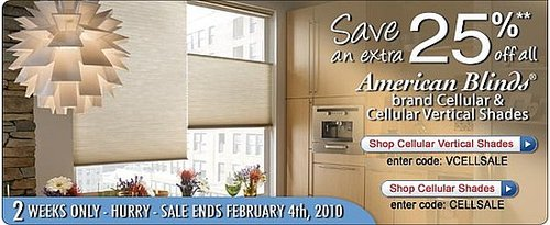 Discount Blinds, Window Blinds, Wallpaper, Shades - Lower Prices at American Blinds, Wallpaper & More