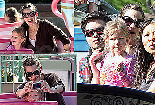 Photos of Jennifer Garner and Violet Affleck Enjoying Disneyland Together
