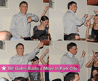 Bill Gates Dancing on the Tables at Sundance Film Festival