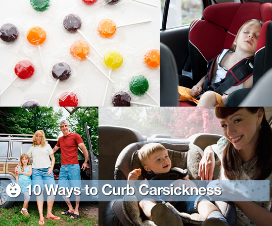 10 Ways to Curb Car Sickness