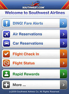 Southwest Airlines App Takes Off With Sale Alerts