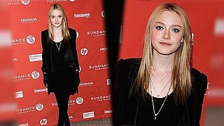 Dakota Fanning at Sundance 2010 in Alice + Olivia, red carpet style
