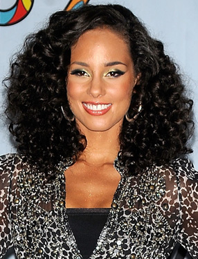 How to Get Alicia Keys' Wavy Hair