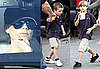 Photos of Victoria Beckham Getting Ice Cream in LA With Romeo Beckham and Cruz Beckham