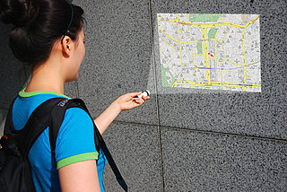 GPS-Enabled Map Projector: Real or Fake?
