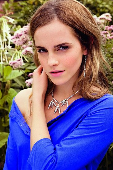 Emma Watson Shows off Her Own Designs