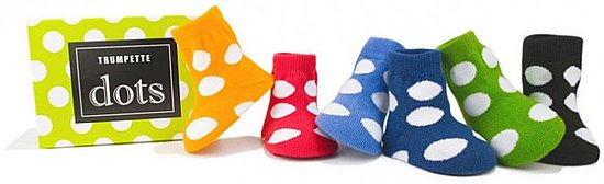 Trumpette Dot Socks