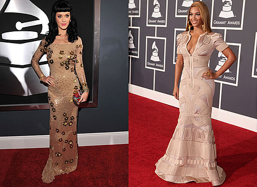 Photos of Long Dresses on 2010 Grammy Award Red Carpet