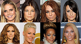 Celebrities' Makeup at the 2010 Grammy Awards