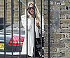 Slide Photo of Sienna Miller Leaving Jude Laws House