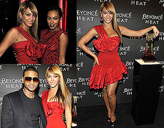 Photos of Beyonce Knowles Launching Her Perfume Heat in NYC 2010-02-03 06:00:00