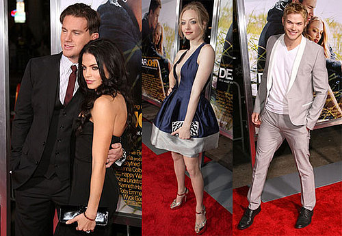 Photos of Channing Tatum, Jenna Dewan, Amanda Seyfried, Kellan Lutz, and Emanuelle Chriqui at The LA Premiere of Dear John