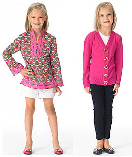 Tory Burch Outfits Little Darlings in Tunics and Cardigans