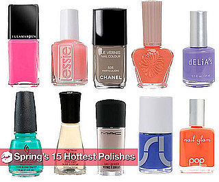 The Hottest New Nail Polish Colors For Spring 2010