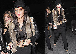 Photos of Lindsay Lohan Clubbing in LA