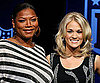 Slide Photo of Queen Latifah and Carrie Underwood Together in FL Before the Super Bowl