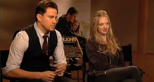 Exclusive Interview With Channing Tatum and Amanda Seyfriend of Dear John