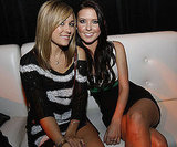 Lauren Conrad and Audrina Patridge hit Playboy's Super Saturday Night Party for the 2008 game.