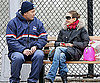 Slide Photo of Sarah Jessica Parker Talking to Postman in NYC
