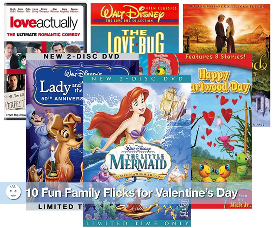 Family Friendly Valentine&#039;s Day Movies
