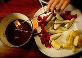 Dark Chocolate Fondue For Two