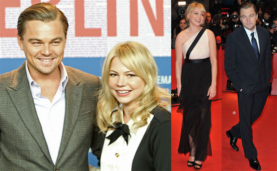 Photos of Michelle Williams, Leonardo DiCaprio, Mark Ruffalo, And Martin Scorsese Promoting Shutter Island in Berlin 2010-02-15 18:00:31