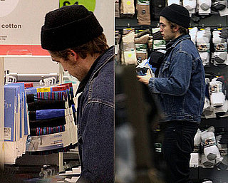 Photos of Twilight's Robert Pattinson With Tom Sturridge in London