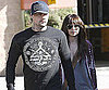 Slide Photo of Nicole Richie and Joel Madden in LA