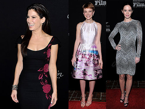 Photos of Emily Blunt, Sandra Bullock, and Carey Mulligan at the 2010 Santa Barbara Film Festival
