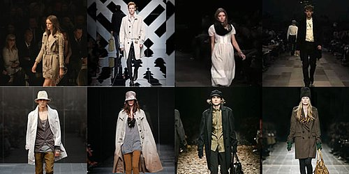 Burberry Prorsum Streams 2010 Fall Runway Show in 3-D