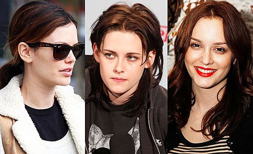 Russet Brunette Hair Colour on Kristen Stewart Leighton Meester and Rachel Bilson