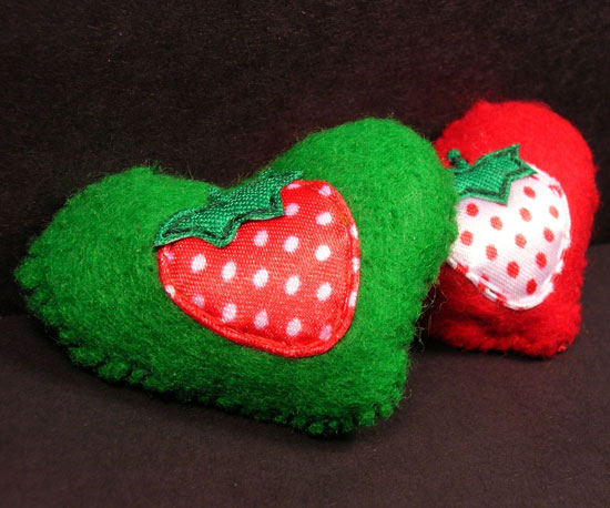 I Love Strawberries