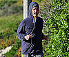 Slide Photo of Matthew McConaughey Jogging in Malibu