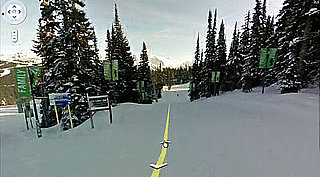 Google Mapping Olympic Downhill Ski Courses With Street View