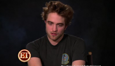 Robert Pattinson and Emilie de Ravin Entertainment Tonight Remember Me Interview 2010-02-10 14:30:47