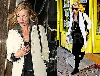 Photos of Kate Moss Running Errands in London